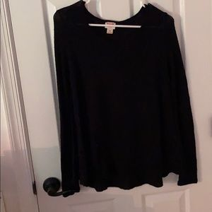 Mossimo black sweater S